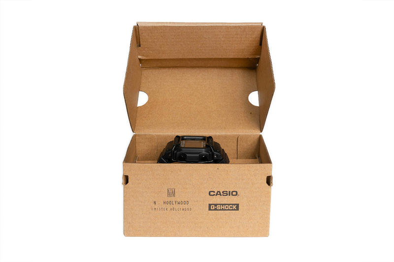 N.HOOLYWOOD x Casio G-SHOCK DW-D5600 watch limited edition black price date purchase online november 2018