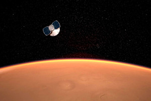 UPDATE: NASA's InSight Robotic Lander Successfully Touches Down on Mars