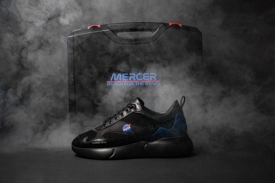 "NASA & Mercer Amsterdam Unveil Apollo 17-Inspired ""Night Mission"" Sneakers"