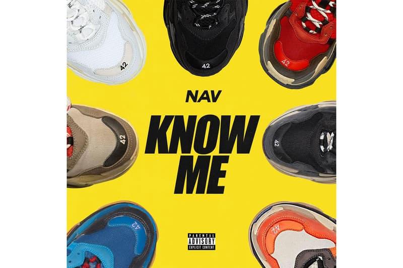 nav know me single stream 2018 music