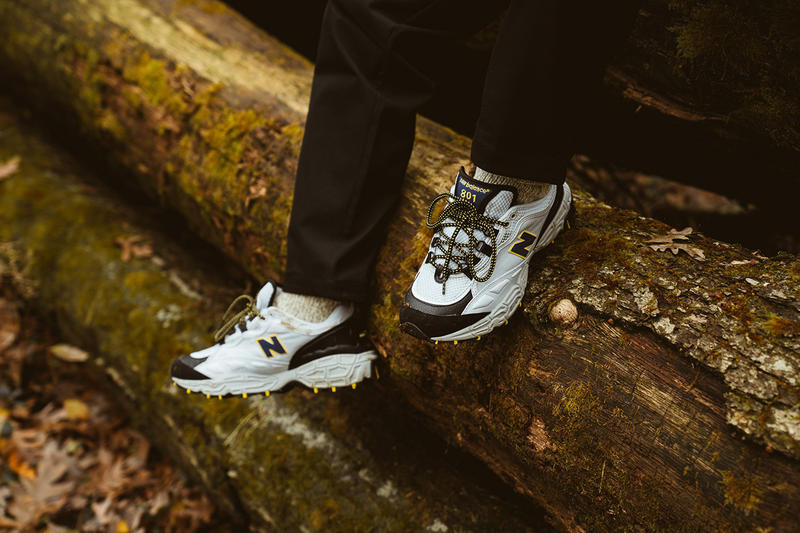 New Balance 801 Notre Rerelease Issue Original OG colorway hiking trail all terrain running sneaker silhouette trainer footwear all conditions gear ACG terrex