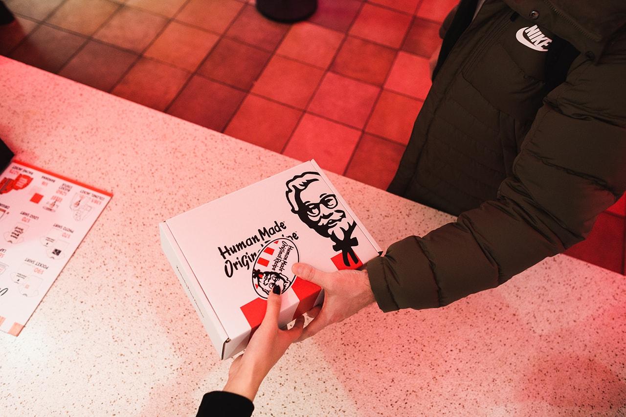 Nigo's HUMAN MADE x KFC Pop-Up Recap