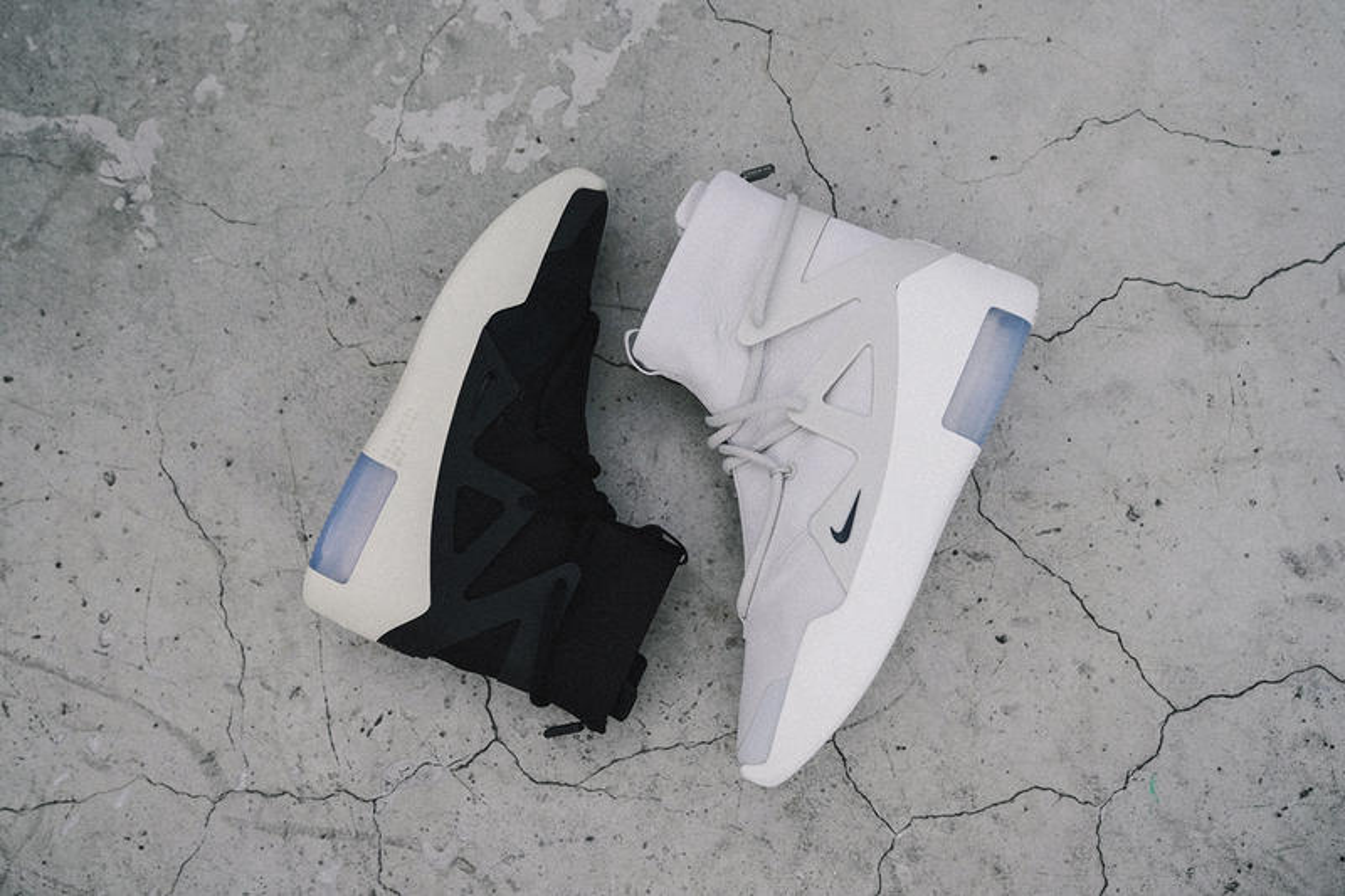 Nike Air Fear Of God 1 Sneakers Closer Look Hypebeast