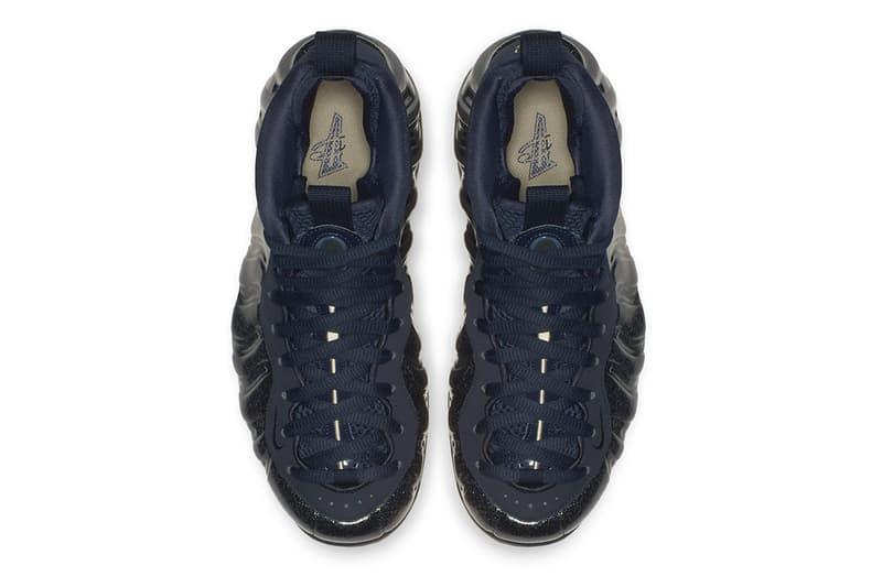 """Nike Air Foamposite One """"Obsidian"""" Glitter release date info price colorway women's WMNS sneaker december 2018"""