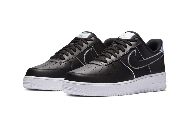 new arrival 3c25c 94ea1 Nike Air Force 1  07 LV8 Black Iridescent Silver release date info price  sneaker