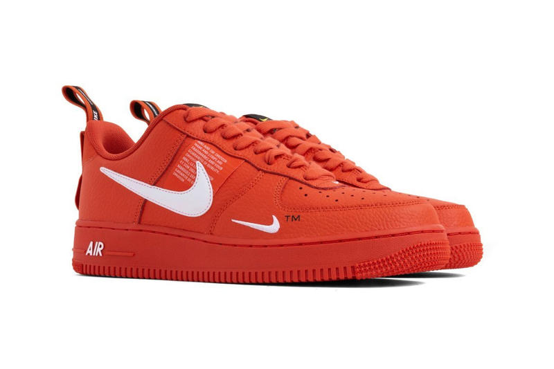 sale retailer c24d6 4757f Nike Air Force 1 07 LV8 Utility Orange White release date