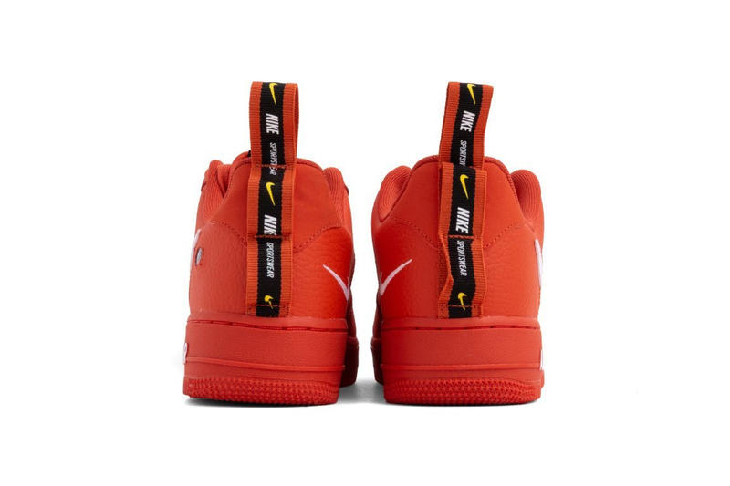 Nike Air Force 1 07 LV8 Utility Orange/White release date