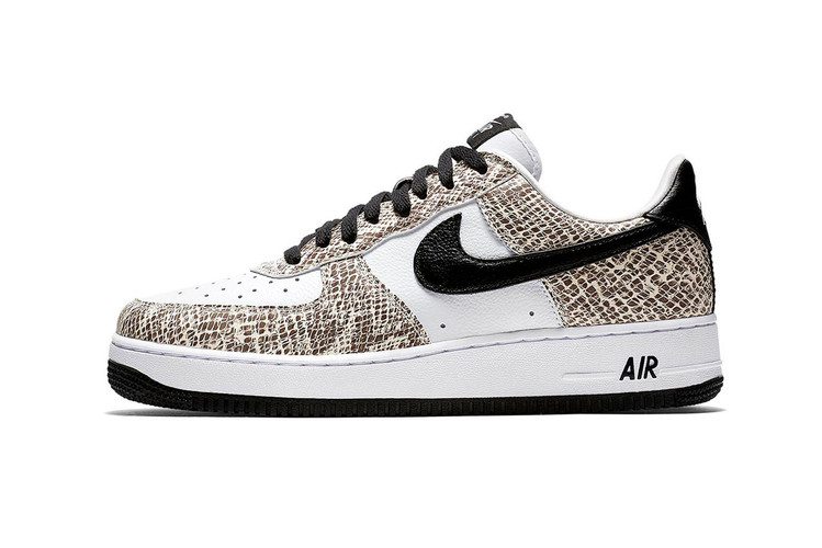 "8c63101f0d76c2 Nike s Air Force 1 ""Cocoa Snake"" Returns This Winter"