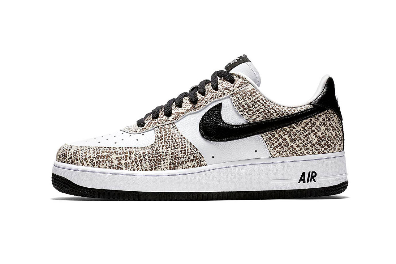 """atmos x Nike Air Force 1 """"Cocoa Snake"""