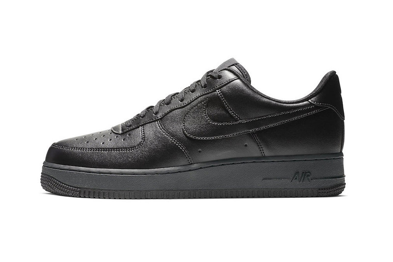 """Nike Set to Release the Air Force 1 Flyleather """"Triple Black"""" on Black Friday"""