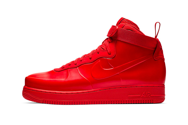 e8074ae3e7f Nike s Air Force 1 Foamposite Gets Swathed in All-Over Red