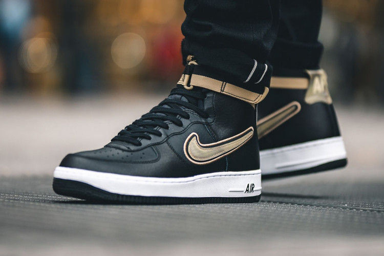 f1c15b5b6e3a Nike Looks to the Toronto Raptors x OVO Partnership With New Air Force 1  High