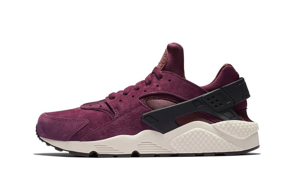 """Nike's Air Huarache Continues to Age Like Fine Wine With New """"Bordeaux"""" Colorway"""