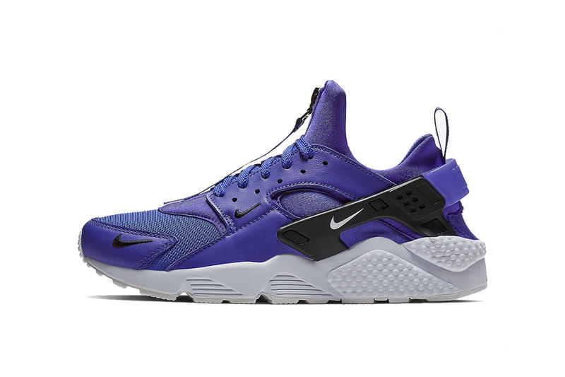 nike air huarache zip black white purple white yellow white 2018 nike sportswear footwear