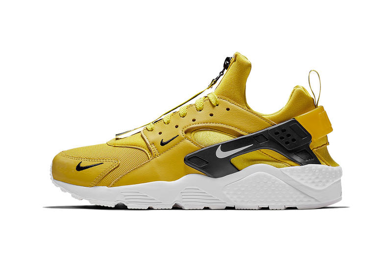 46f4597100 nike air huarache zip black white purple white yellow white 2018 nike  sportswear footwear