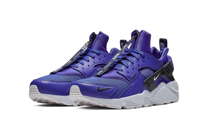 0667cffdc60b nike air huarache zip black white purple white yellow white 2018 nike  sportswear footwear