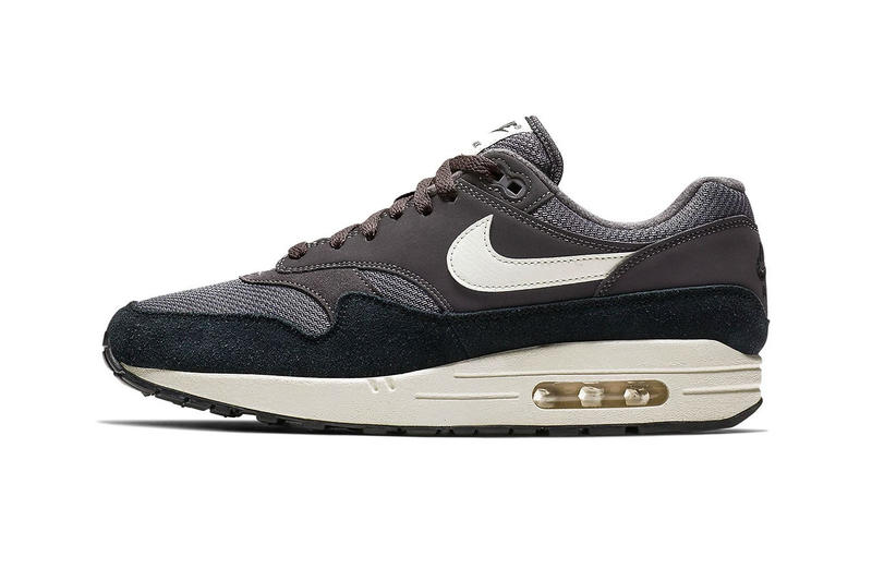 "Nike Air Max 1 Dons a Multi-Textile ""Thunder Grey"" Look"