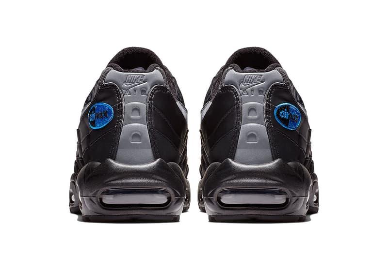 nike air max 95 black black anthracite game royal 2018 november footwear nike sportswear