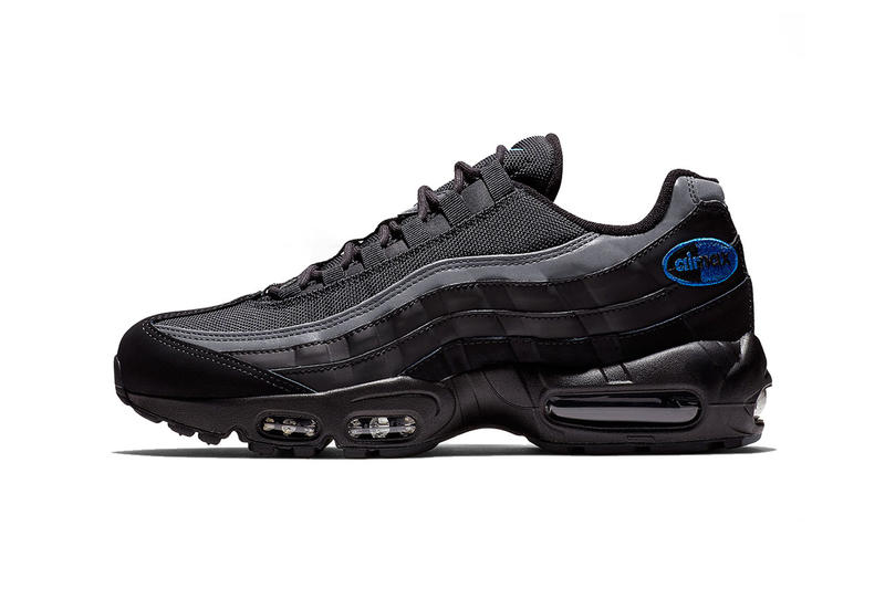nike air max 95 black black anthracite game royal 2018 november footwear  nike sportswear 9553a4b1ddc2