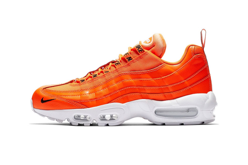 """Nike Air Max 95 Premium Gets the """"Overbranded"""" Treatment"""