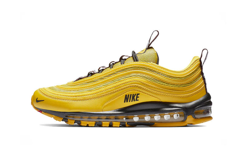 nike air max 97 premium bright citron black 2018 december footwear nike sportswear