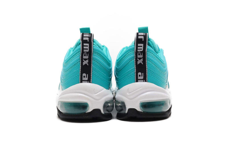 "Nike Air Max 97 ""Hyper Jade"" Release Date sneaker november 2018 21 AR7621-300"