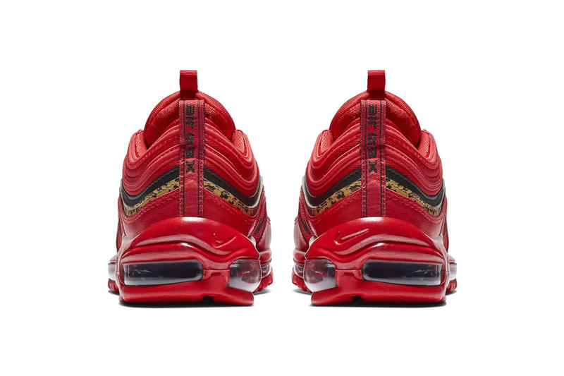 new styles 12023 84ad5 Nike Air Max 97 Red Leather   Leopard Print colorway Release Date info  price sneaker november