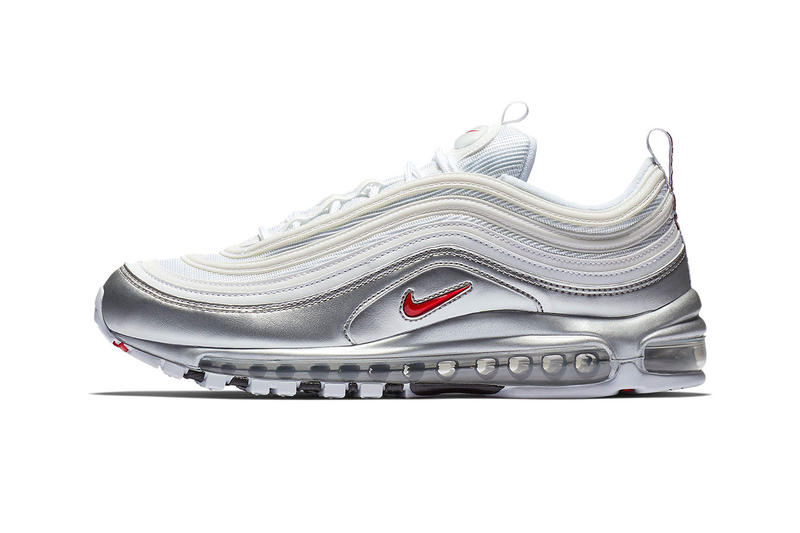 Nike Air Max 97 Metallic Pack Release Date gold silver november 9 2018  AT5458-100 87498122f5d7