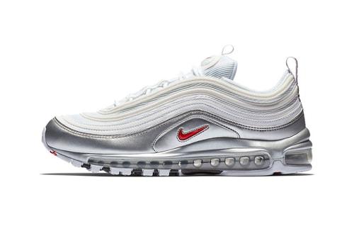 "Nike Preps Trio of Dazzling Air Max 97 ""Metallic"" Sneakers"