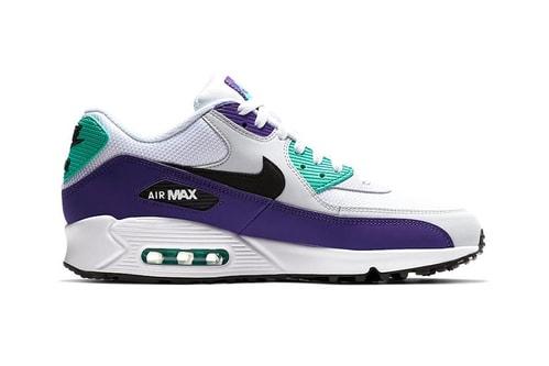 """Nike's Air Max 90 Gets the """"Grape"""" Treatment"""