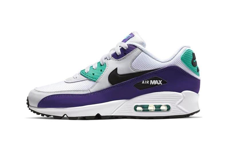 "Nike Air Max 90 ""Grape"" Colorway Release Date sneaker nike sportswear"