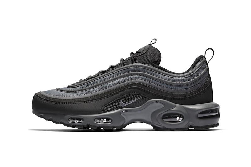 nike air max 97 plus black reflective footwear shoes sneakers kicks drops  releases 84f21c348