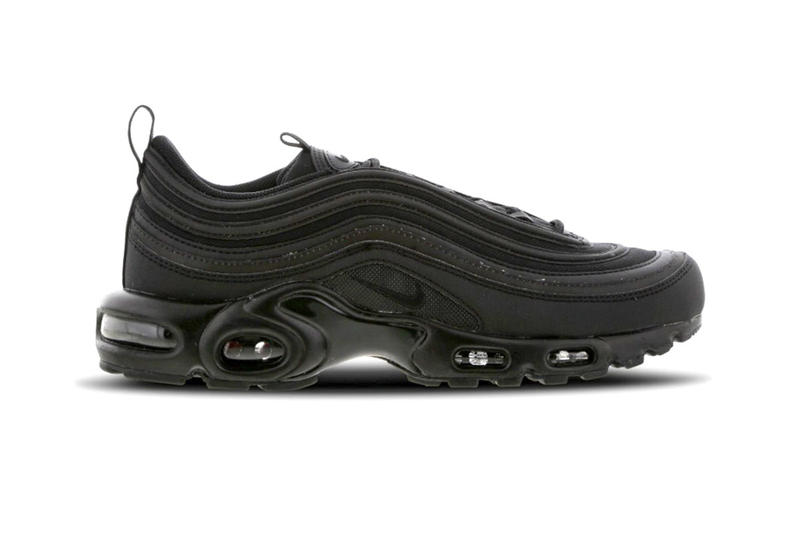 4c2502f2c89 Nike Air Max Plus 97 Triple Black Release Info Date Metallic Gold Yellow