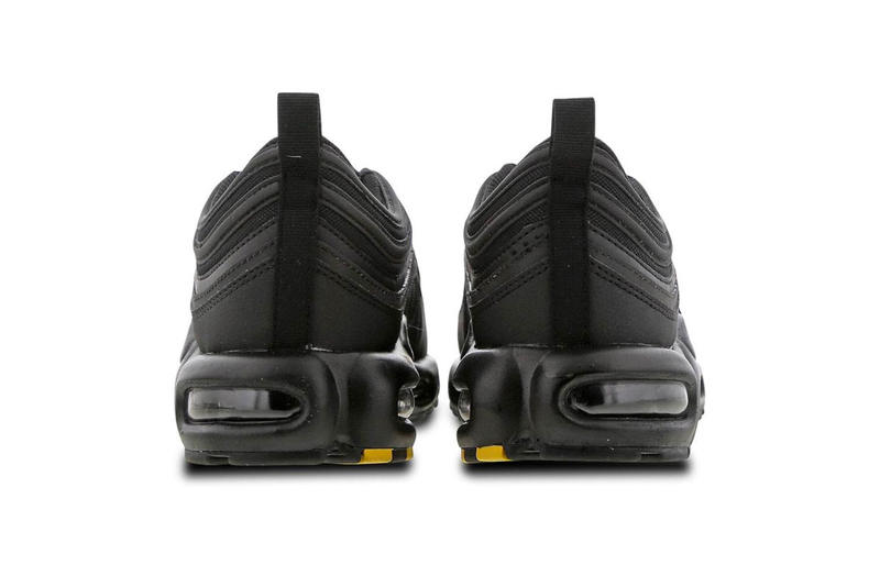 Nike Air Max Plus 97 Triple Black Release Info Date Metallic Gold Yellow