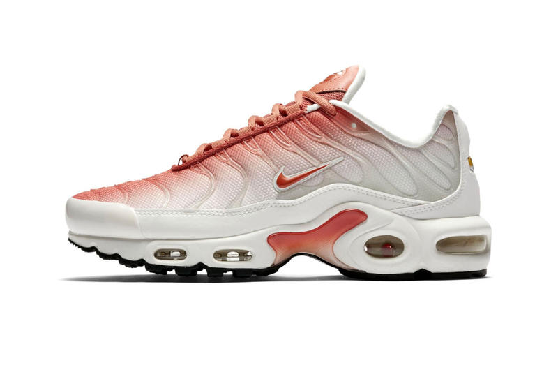 9eb0ebc624 Nike Air Max Plus Faded Coloring Salmon Pink White Black Release Info Date  Sail