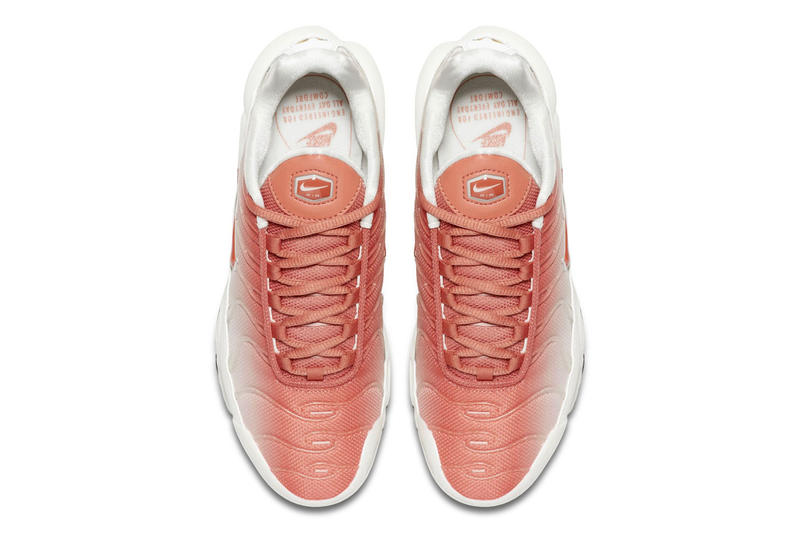 Nike Air Max Plus Faded Coloring Salmon Pink White Black Release Info Date Sail