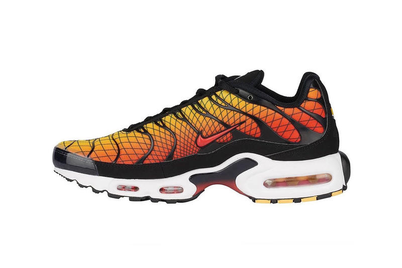 Nike Air Max Plus Greedy Release Hyperblue Sunset blue Red Orange