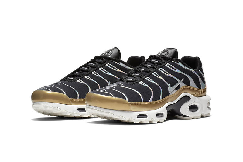 Nike Air Max Plus Holographic Silver & Gold colorway release date info sneaker price