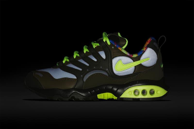 "Nike Air Terra Humara '18 ""Olive/Volt Glow"" Floral lining sneaker release date women's price colorway"