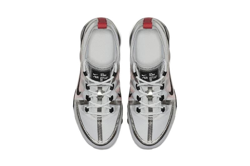nike air vapormax 2019 white black metallic silver