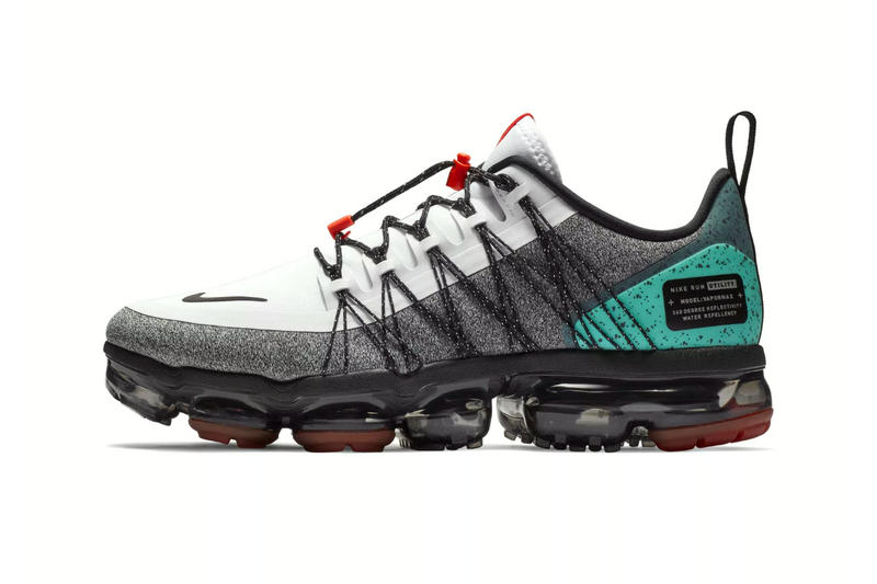 "Nike Air VaporMax Utility ""Tropical Twist"" release date price sneaker november 2018 blue white black grey orange red footwear trainers"