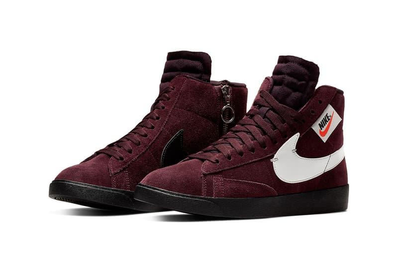 40231ec106b4 Nike Blazer Rebel Burgundy Colorway Sneaker Store List Details Shoes  Trainers Kicks Sneakers Footwear Cop Purchase