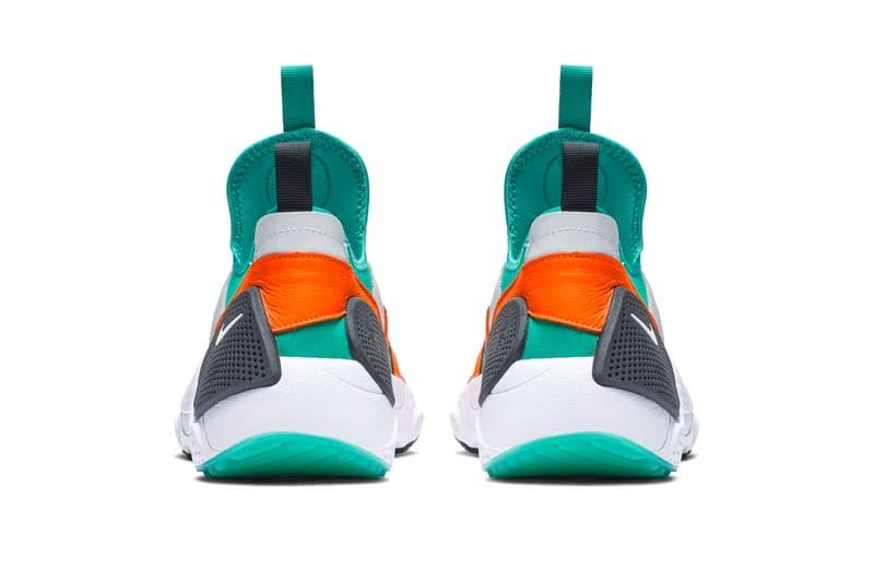 Nike Huarache E.D.G.E. TXT White Clear Emerald Total Orange Indigo Force Black First Look Release Info Date Tinker Hatfield Air