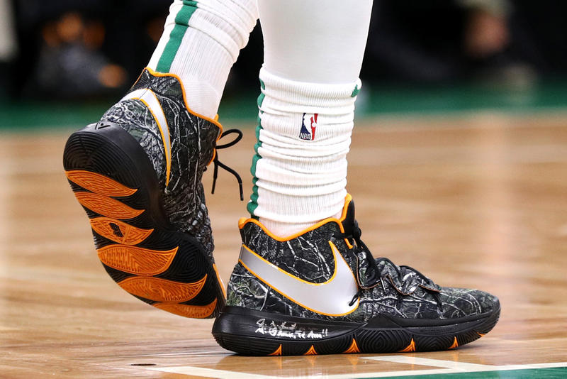 "Nike Kyrie 5 ""Taco"" Release Date info price kyrie irving taco odd future colorway basketball sneaker shoe camo camouflage"
