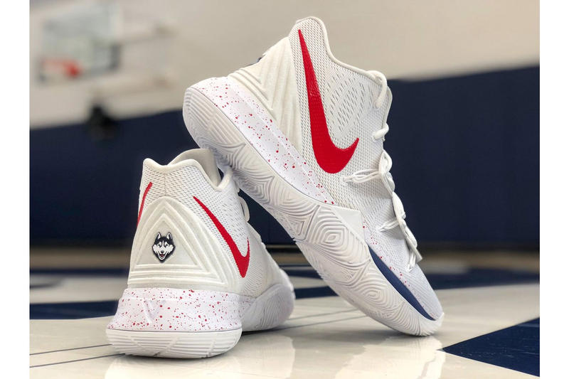 "Nike Kyrie 5 PE ""University of Connecticut Huskies"" kyrie irving UConn"
