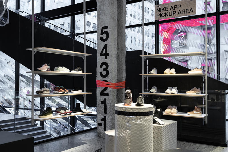 nike house of innovation 000 nyc new york city flagship november 2018 address location store shop pictures photos images inside exterior interior closer look hours noise cancelling collection where directions app