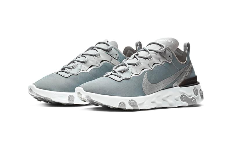 "Nike React Element 55 ""Metallic Gold"" ""Metallic Silver"" Release Info price date sneaker colorway tan olive brown purchase buy online"