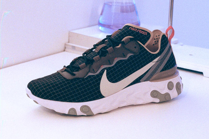 02e8e4fdd9e867 size  Exclusive x Nike React Element 55 Sneakers Shoes Trainers Kicks  Footwear
