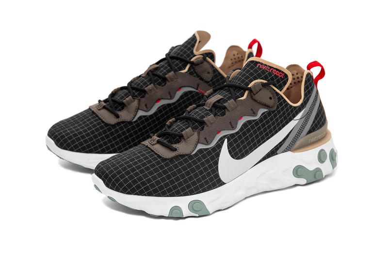size? Exclusive x Nike React Element 55 Sneakers Shoes Trainers Kicks Footwear