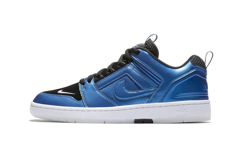 403b6be69abf4 A nod to Penny Hardaway s iconic Air Foamposite One. Nike SB Air Force 2  Low Foamposite Release ...
